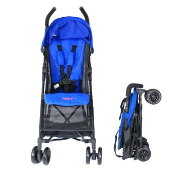 Akeeva Alvis Pocket Travel Stroller (Blue)