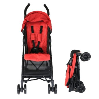 Akeeva Alvis Pocket Travel Stroller (Red)