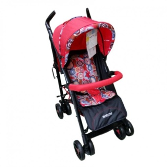 Baby 1st S-B217A European Canopy Baby Stroller (Red)