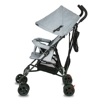 Baby Stroller Folding Umbrella Ultra Light Portable Four Wheel Shock Travel Can Be Boarded Baby Child's Trolley 61*36*95CM - intl