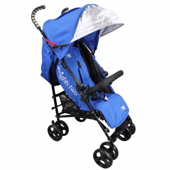 Brights Two Baby Stroller Umbrella Style (Blue)