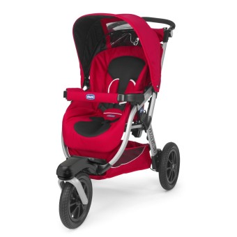 Chicco Activ3 Stoller (Red)