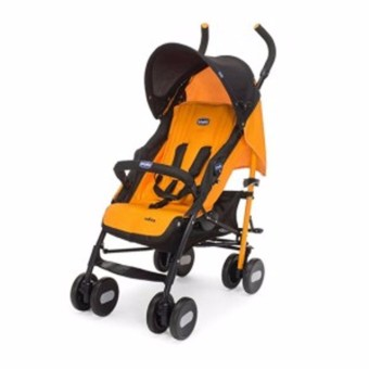 Chicco Echo Stroller With Bumper Bar Orange