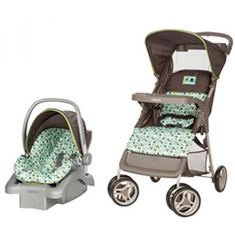 Cosco Lift & Stroll Travel System - Car Seat and Stroller – Suitable for Children Between 4 and 22 Pounds