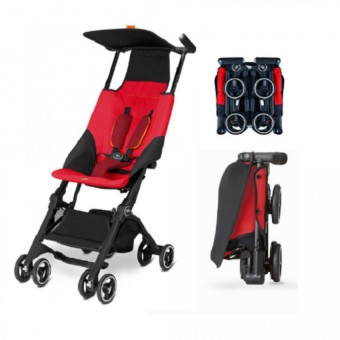 Goodbaby Pockit Travel Stroller (Dragonfire Red)