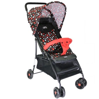 Happy Dino Luxury Stroller (Red)