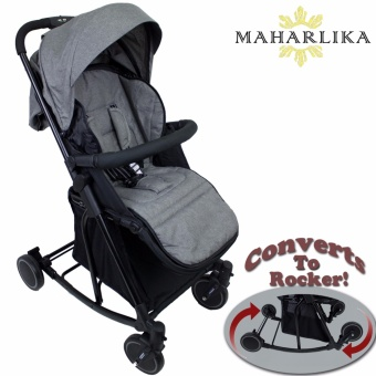 Mk Folding Convertible Baby Stroller Rocker For Baby 0 To