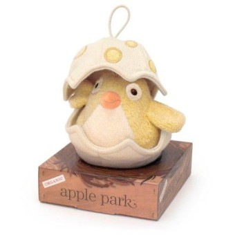 Apple Park Musical Baby Bird- Yellow