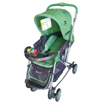 Baby 1st Stroller with Reversible Handle and Rocking Feature S-036CR