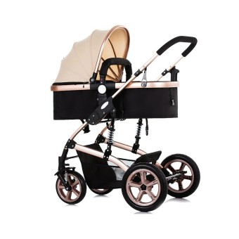 Baby Stroller with Explosion-proof Rear Wheel - intl