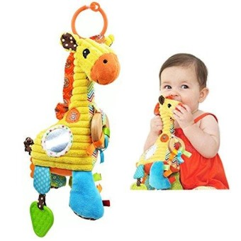 Babyprice Infant Baby Musical Toy Cute Along Travel Linking Toy Senses Sensory Giraffe