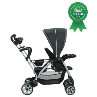 [Baobab] Graco Roomfor2 Click Connect Stand and Ride Stroller