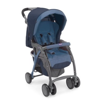 Chicco Simplicity Top Stroller (Blue)
