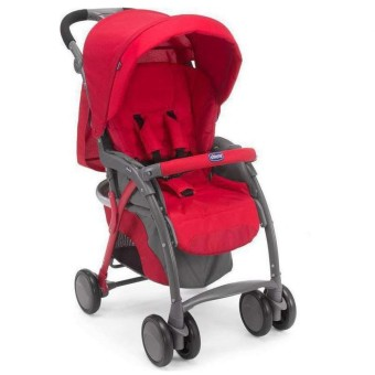 Chicco Simplicity Top Stroller (Red)
