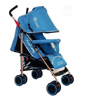 Foldable Compact Baby Stroller with Canopy Style #C601B (Violet)