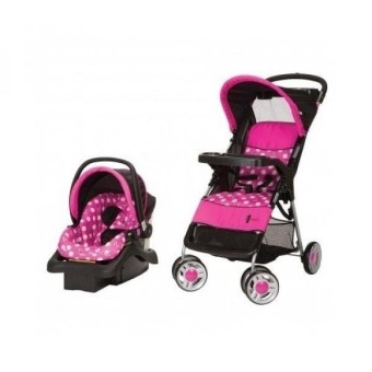 Gpl Minnie Mouse Infant Travel System Stroller And Carseat Disney Baby Ship From Usa Intl