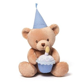 Gund Baby Animated Stuffed Animal- Happy Birthday Talking Bear