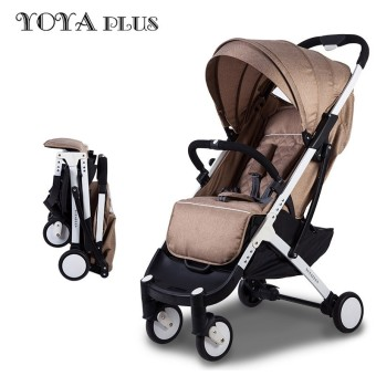 High Quality baby stroller light folding umbrella car can sit can lie ultra-light portable on the airplane - intl