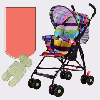 (Imported)BEST-TRY Lightweight Premium Babycare Carriage Foldable Multifunctional Infant Stroller High Seat Mat - intl