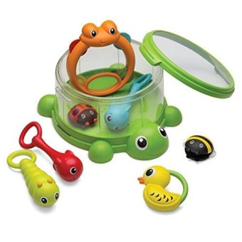 Infantino Turtle Cover Band 8-Piece Percussion Set