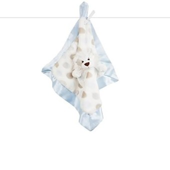 Little Giraffe L Blanky Crib Toy- Blue