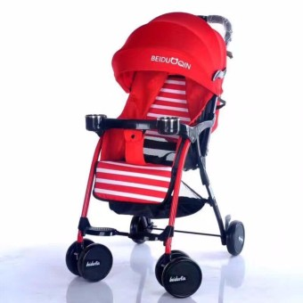 Stroller With Foodtray And Bottle Holder Baby Stroller