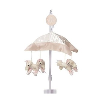 Sweet Potato Lil' Princess Musical Mobile- Pink/Cream/Ivory