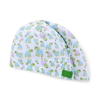 Tortle Newborn Hat- Adjustable Head Support Helps To Fix Flat Head Syndrome- Head And Neck Positioner- Turtles- Medium