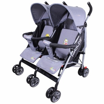 Unicorn Angel Baby Infant Twin Umbrella Style Stroller MJS813S