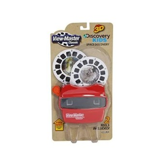 View Master Classic Viewer With 2 Reels Space Discovery Toy Package May Vary